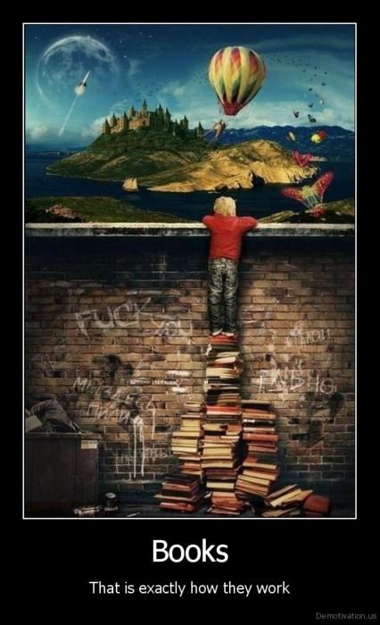 How books do work...