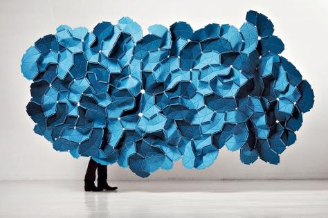 Bouroullec: Wolkenplastik