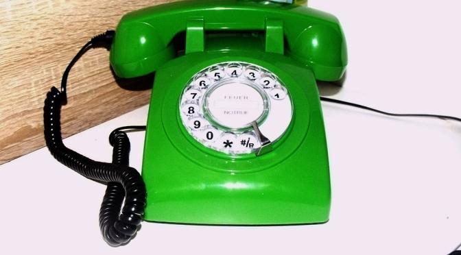 Telefon-Glücksrad