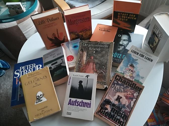 Reiche Bücherbeute