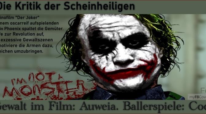 """Kinofilm """"Der Joker"""" spaltet Gemüter"""