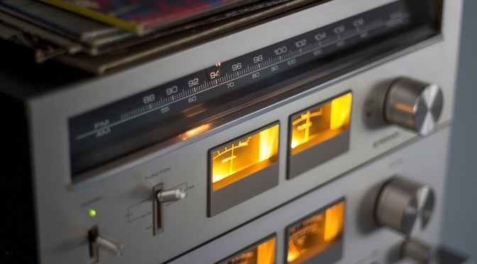 Einmal im Radio sein